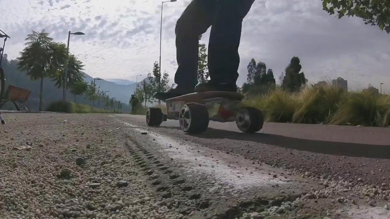 لوح التزلج الكهربائية