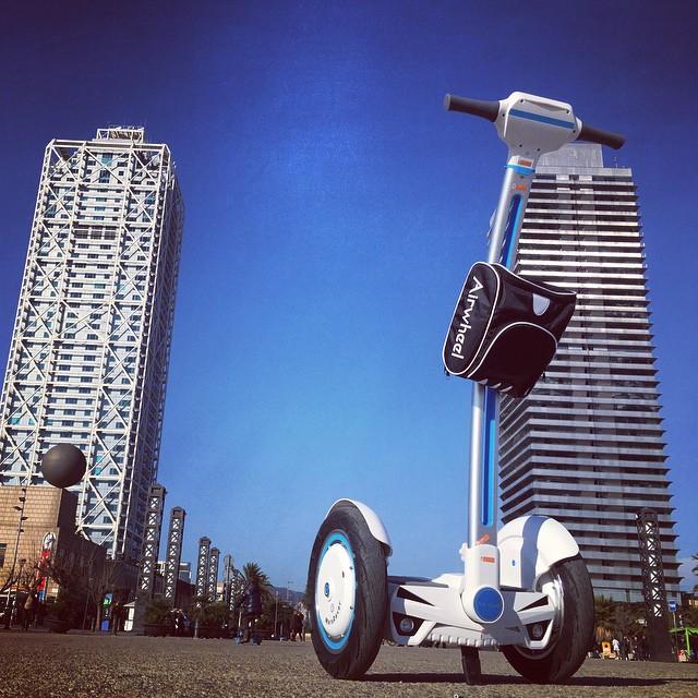 Airwheel,  سكوتر التوازن الذاتي
