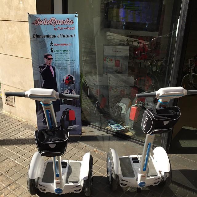 Airwheel,  دراجة التوازن الذاتي