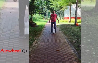 Airwheel,Airwheel Q1,two wheels self balance ebike