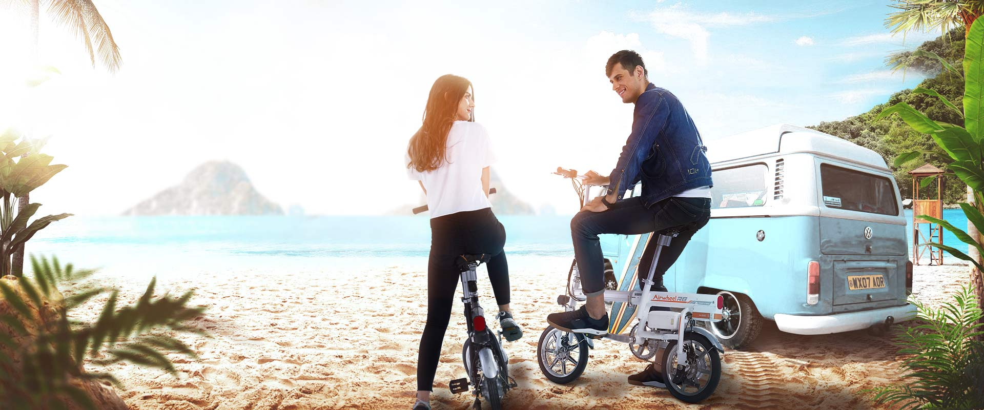 Airwheel R6 الدراجة الكهربائية