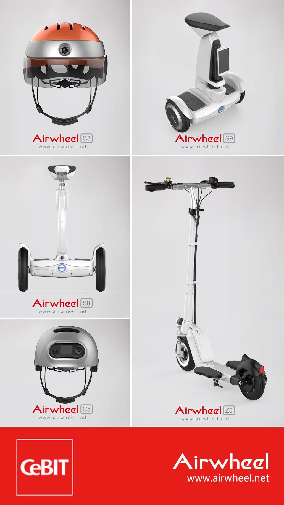 Airwheel  سكوتر كهربائي متوازن ذاتيا