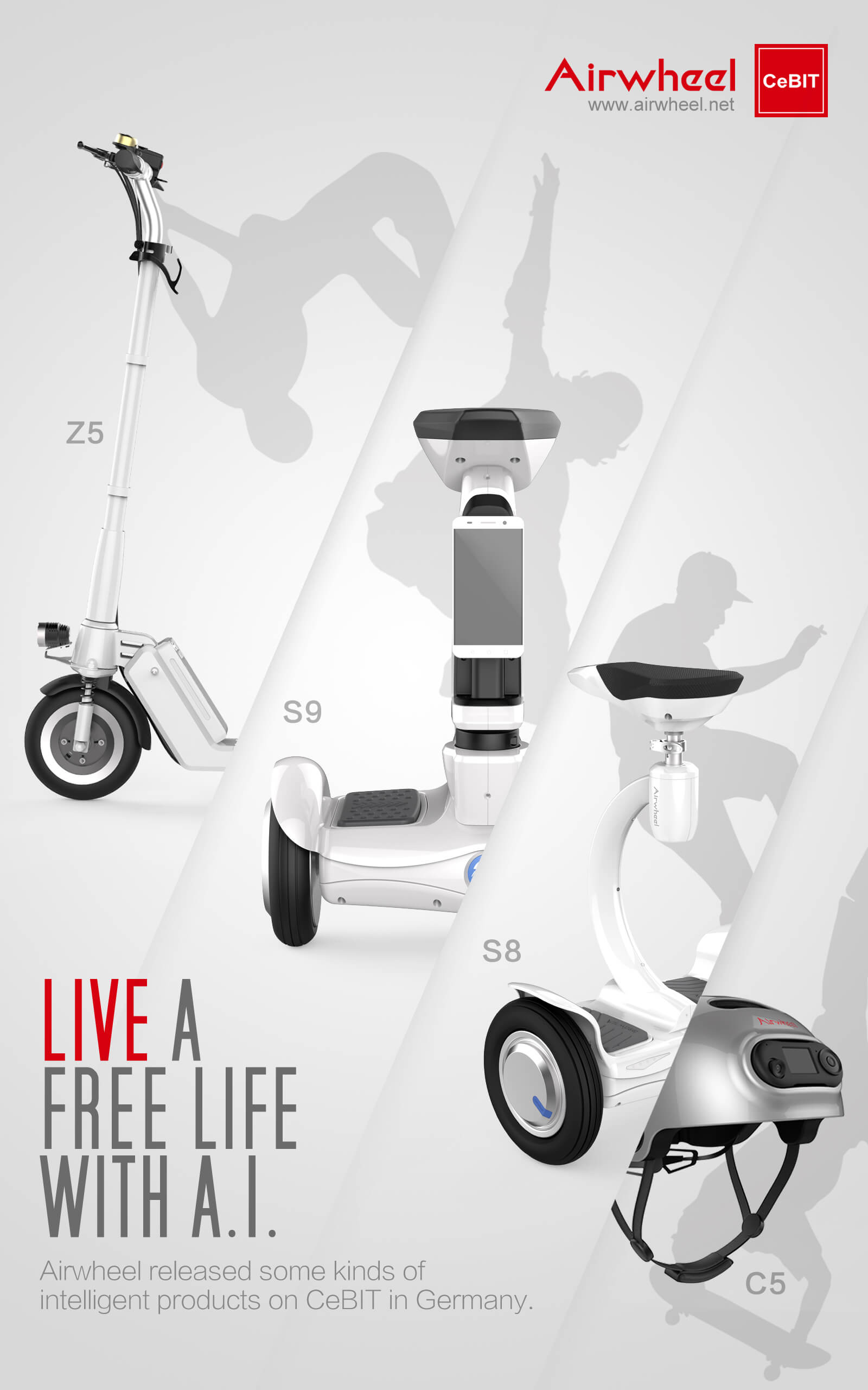 Airwheel CeBIT